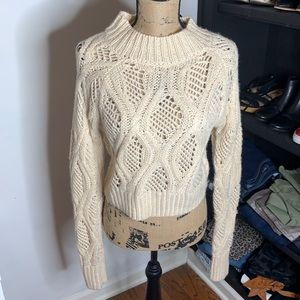 NWT Forever 21 cropped sweater, size large